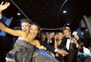 limousine night out on the town