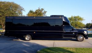 Luxe 28 Passenger Party Bus New Orleans Limousine Services